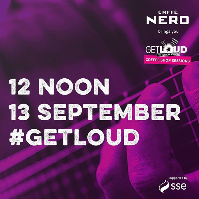 @caffenero X @nordoffrobbins We're playing a charity gig in Westfield Stratford today... from 12 for #nordoffrobbins #caffenero #Live #London #eastlondon #band #bandoftheday find out how you can donate on the link. 🙌🏽