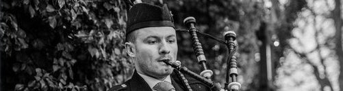 Wedding Bagpipes by