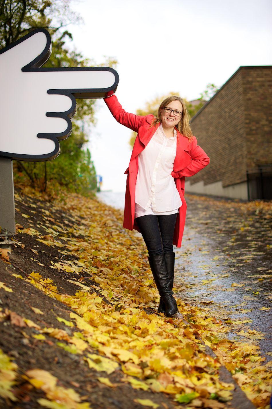 Gitta Wilén, Internetworld nr:10 2010 ©Tobias Björkgren