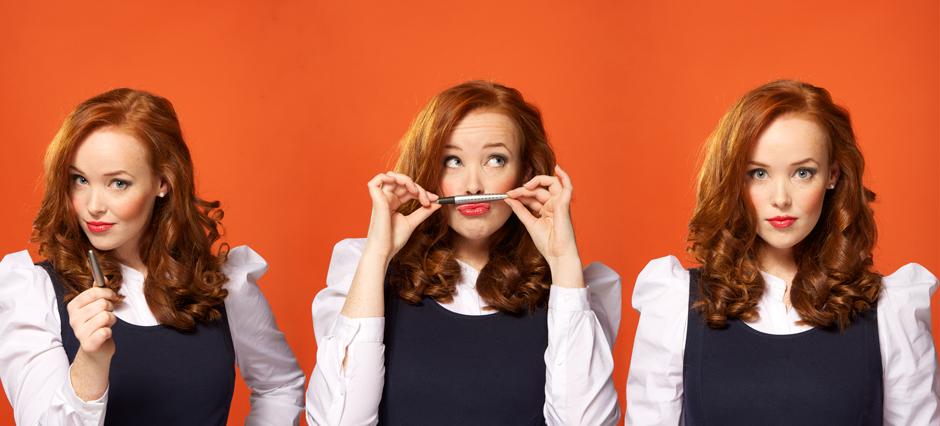 Caroline Åslund aka Gingerkid - nya headern på bloggen