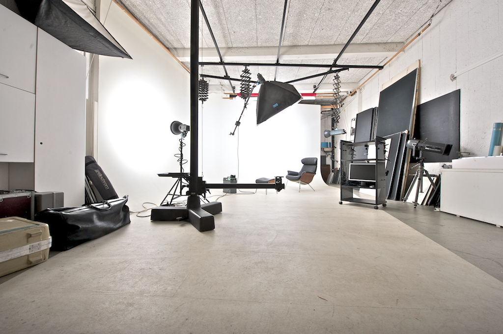 Stora studiohallen på Lovisastudion