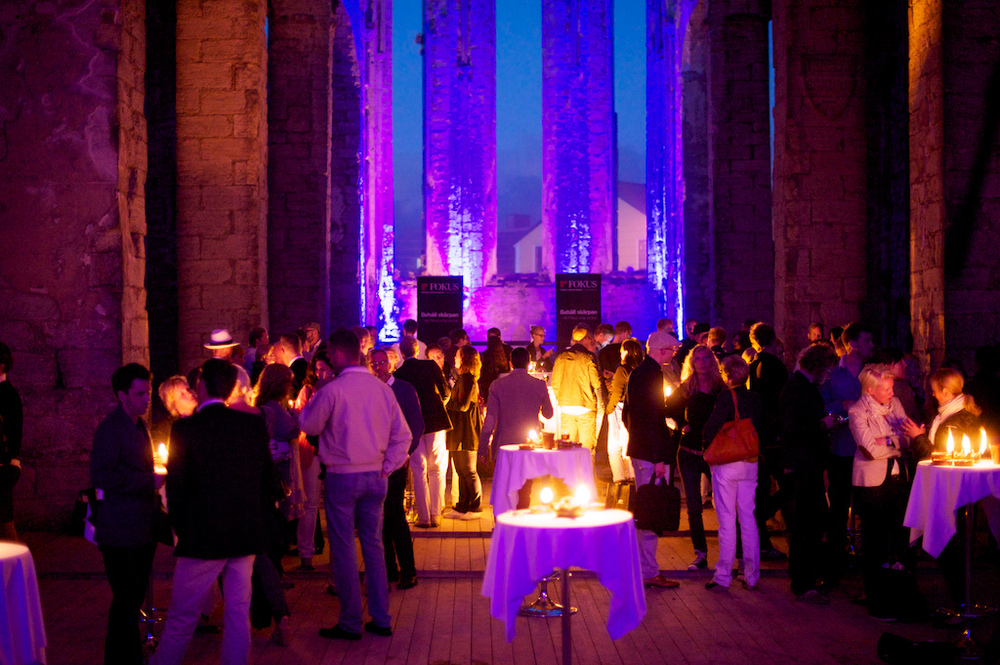Årets Almedalsfest i St:Nicolai-ruinen