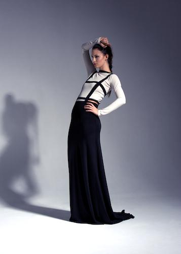 Klänning för designern Ida Lanto