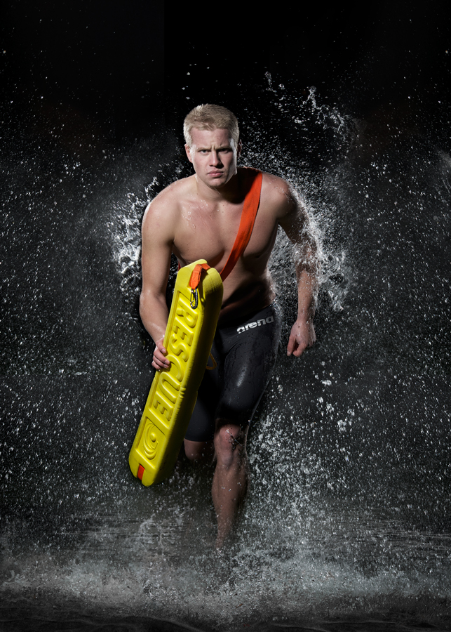 Christian Björkgren - Swedish Lifeguard ©Tobias Björkgren