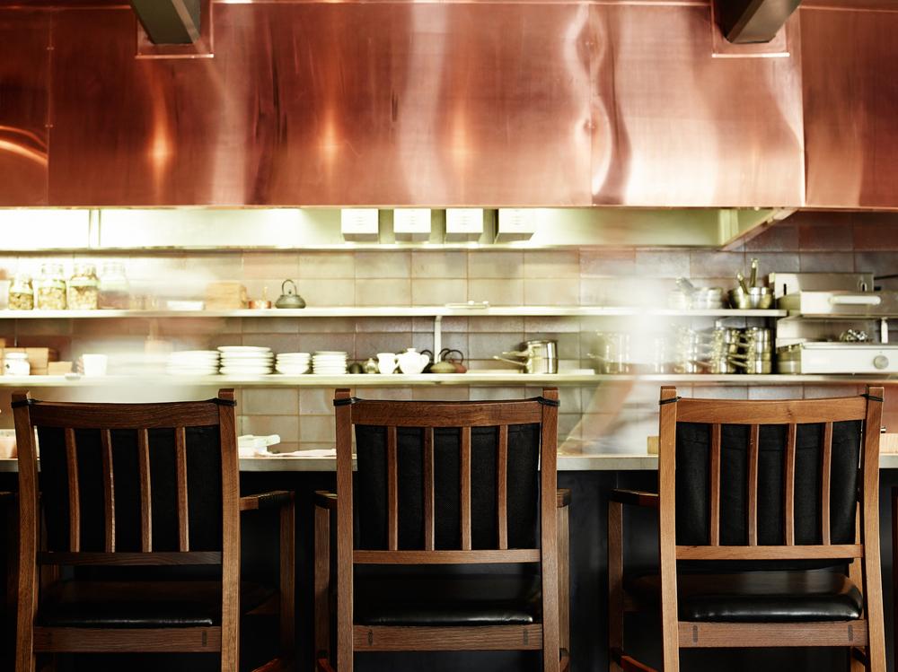 Interior shot from 2014 shoot of the Frantzén Group flagship restaurant Frantzén.
