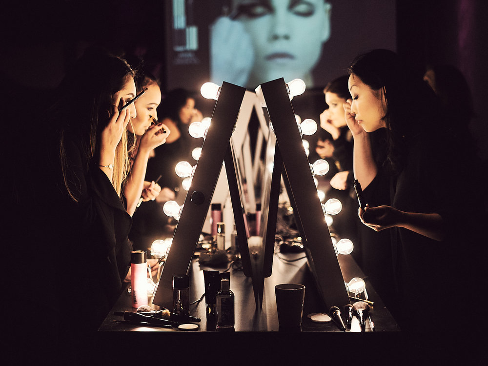 Behind the scenes from YSL Beauty event