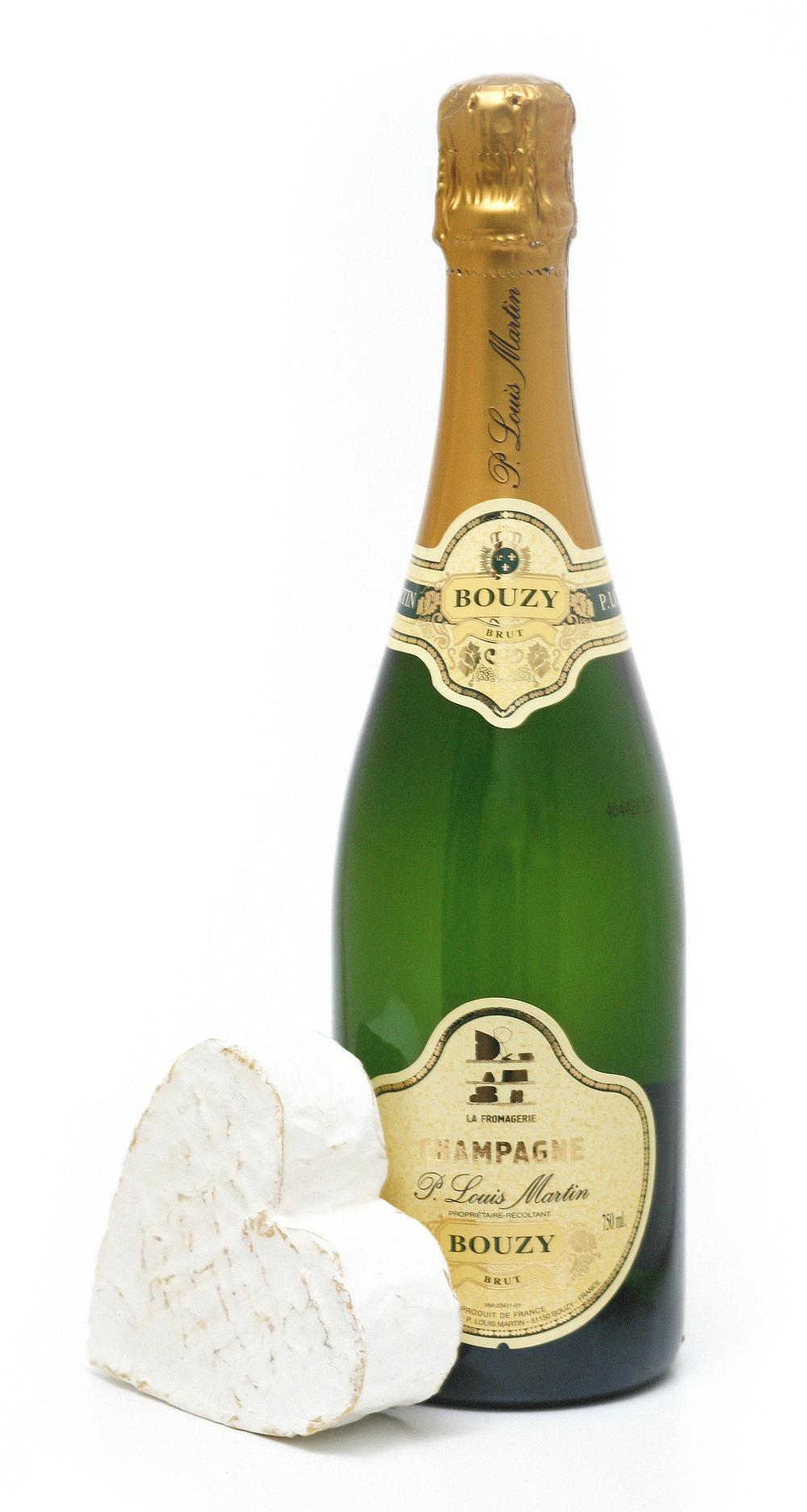 Valentine's Champagne & Heart Box £45