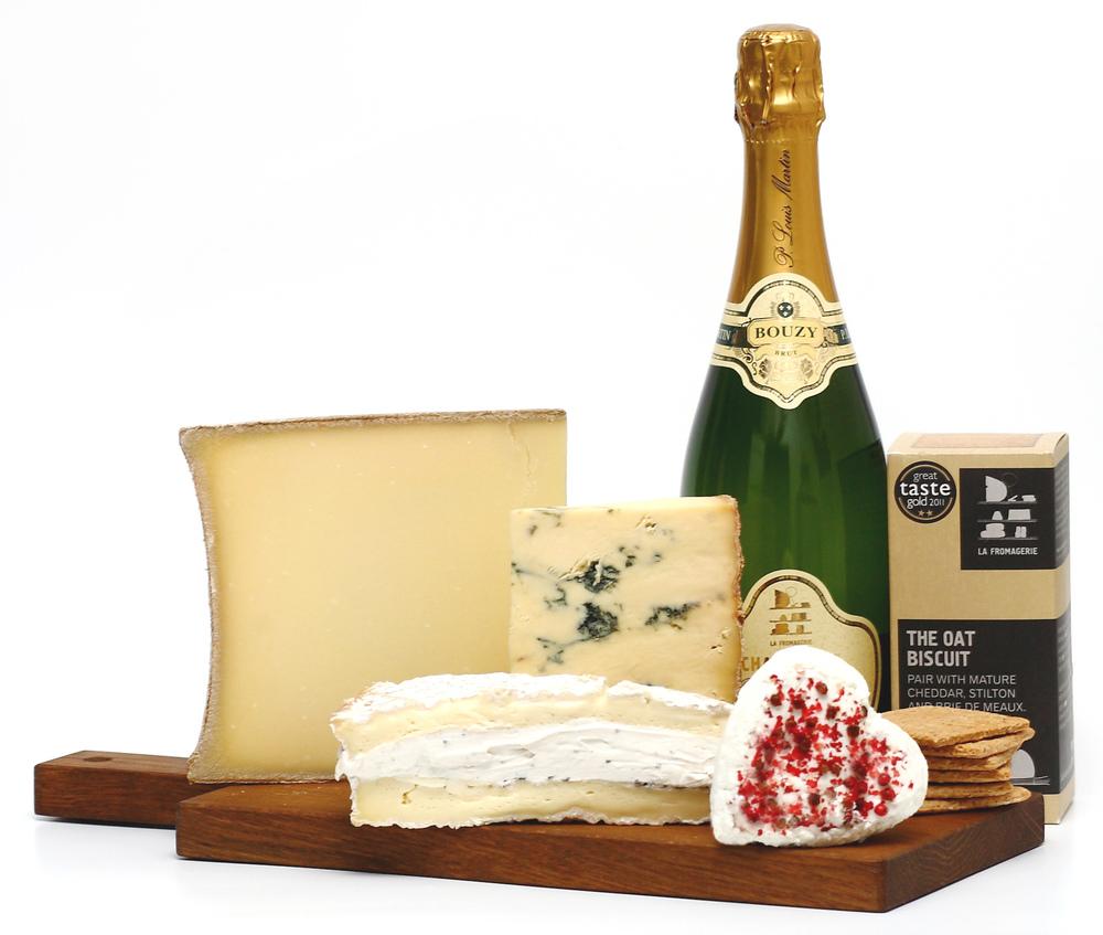 La Fromagerie Valentine's Box £45 + Champagne £81