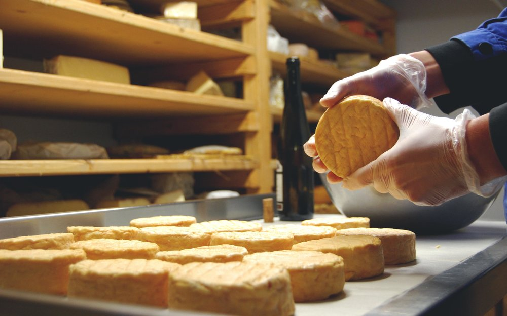 The Cheese Room at La Fromagerie