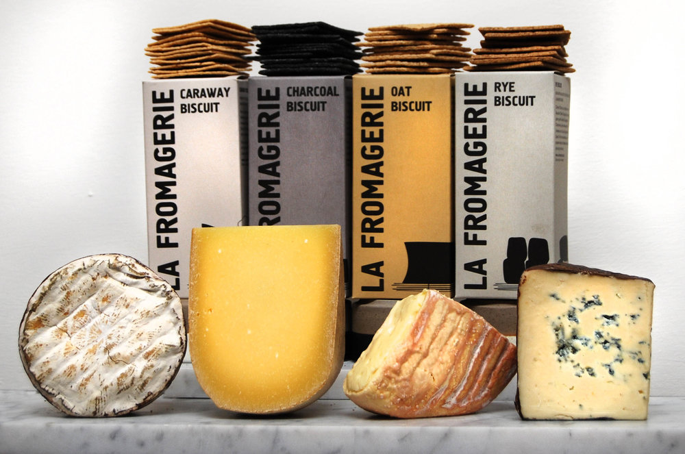US Cheese Selection: Harbison, Pleasant Ridge, Oma, Rogue River