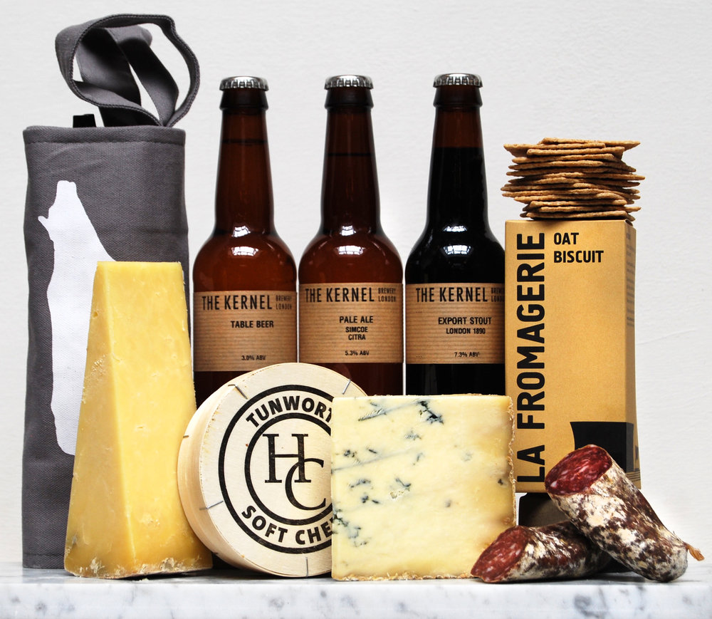 CHEESE & BEER GIFT BOX