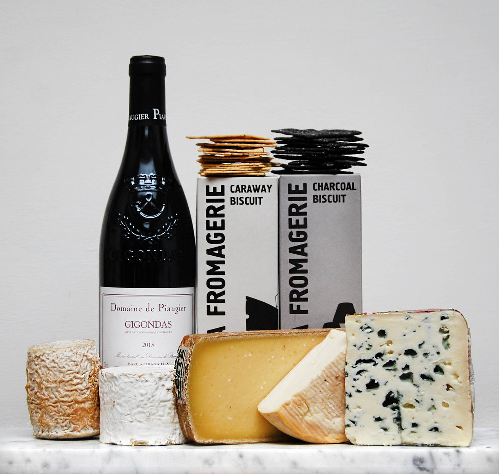 FATHER'S DAY FRANCE CHEESE & WINE GIFT BOX