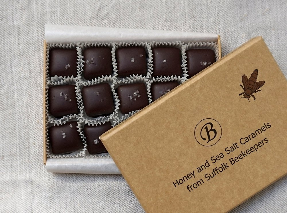 B Chocolates Honey & Sea Salt Caramels