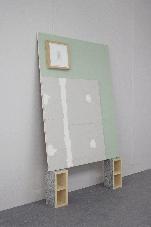 Galerie Sans Nom   Temporary structures : Murs inachevés    Ann Karine Bourdeau Leduc