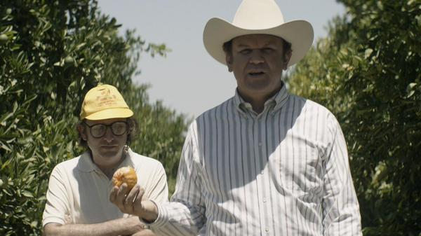 Gregg Turkington and John C. Reilly.
