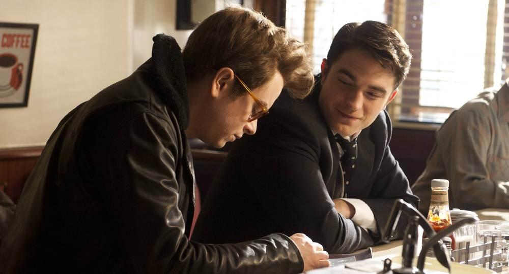 Dane Dehan and Robert Pattinson as James Dean and Dennis Stock.
