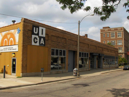 UICA's previous home located on Sheldon Blvd. which is currently the ArtPrize HUB.