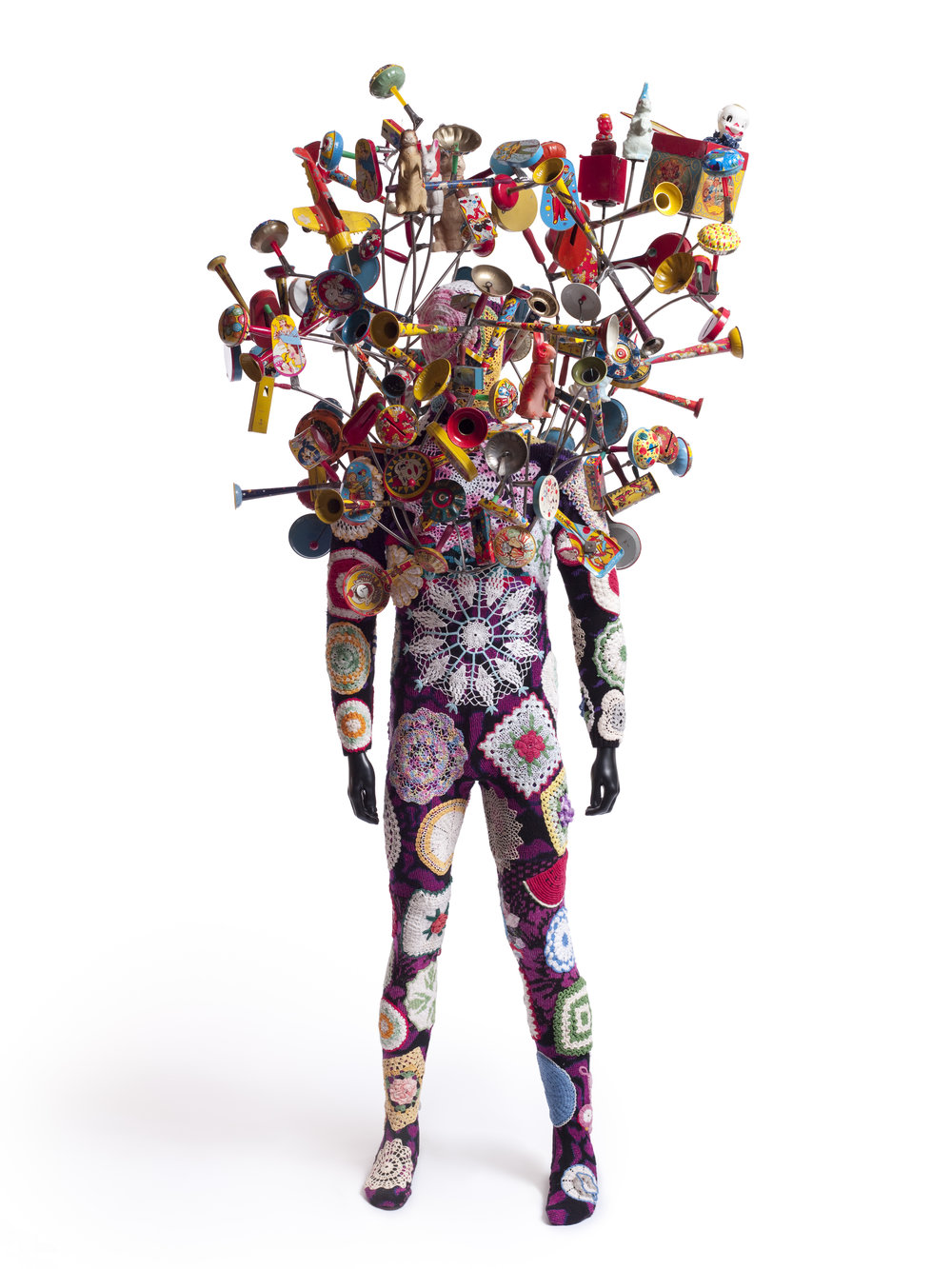 Nick Cave, (b. 1959), Soundsuit, 2010, Mixed media, 92 x 43 x48 in