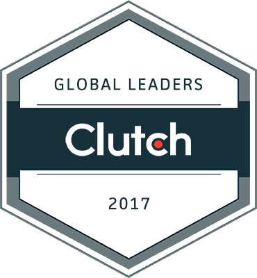 2017 Global Leader - in Social Media Marketing by Clutch.