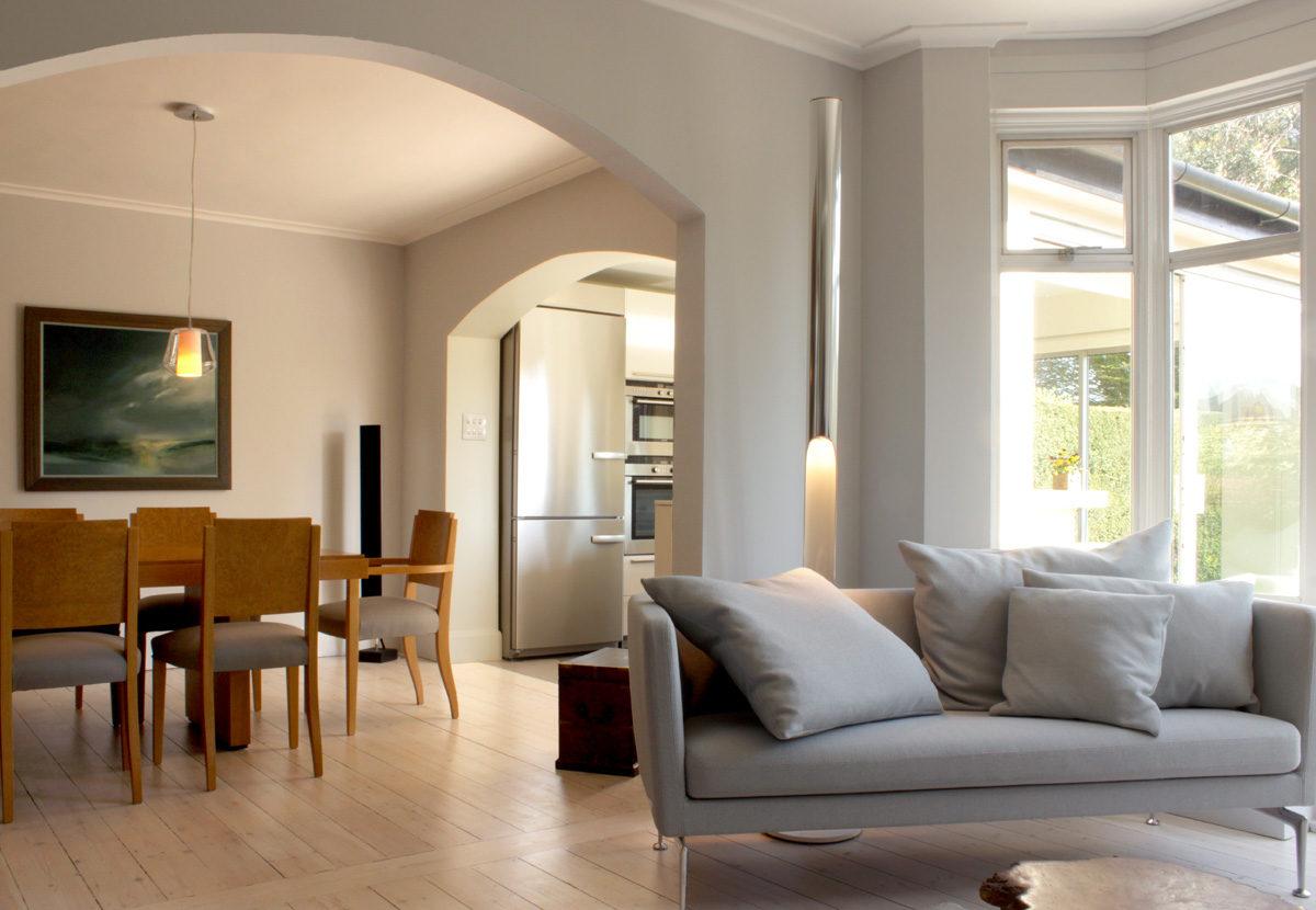 rogue designs interior designers oxford - Clear and calm: 1930s ...