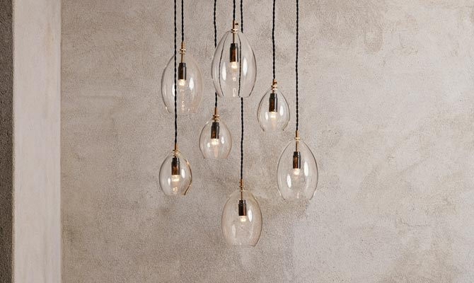 Unika pendant light