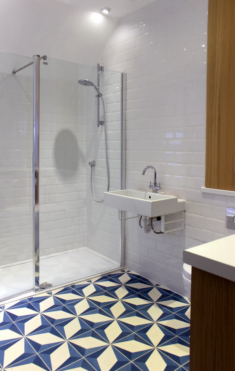 Patterned Floor Tiles Bathroom Rogue Designs Interior Designers Oxford News And Recent Designs