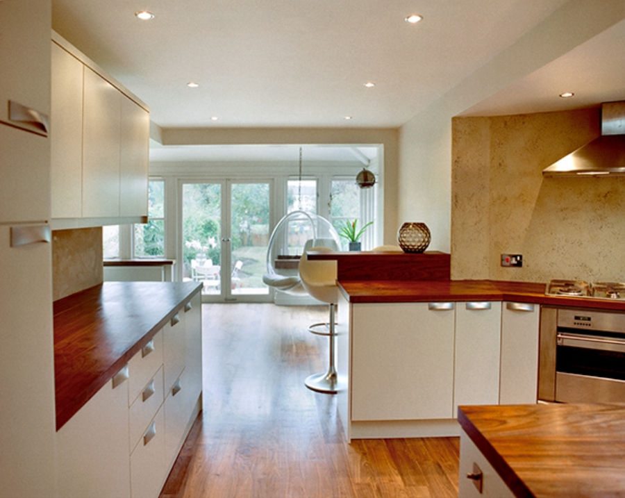 bubble_chair_kitchen_designs_walnut_worktop_rogue_designs_interior_designers_oxford
