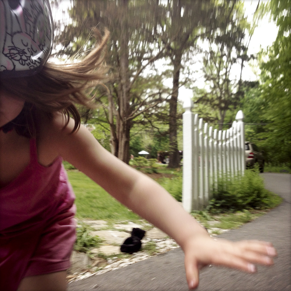 Alice: Bicycle Crash With Bunny Helmet