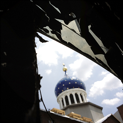 07.18.2012 – Dome and Broken Window Pane.