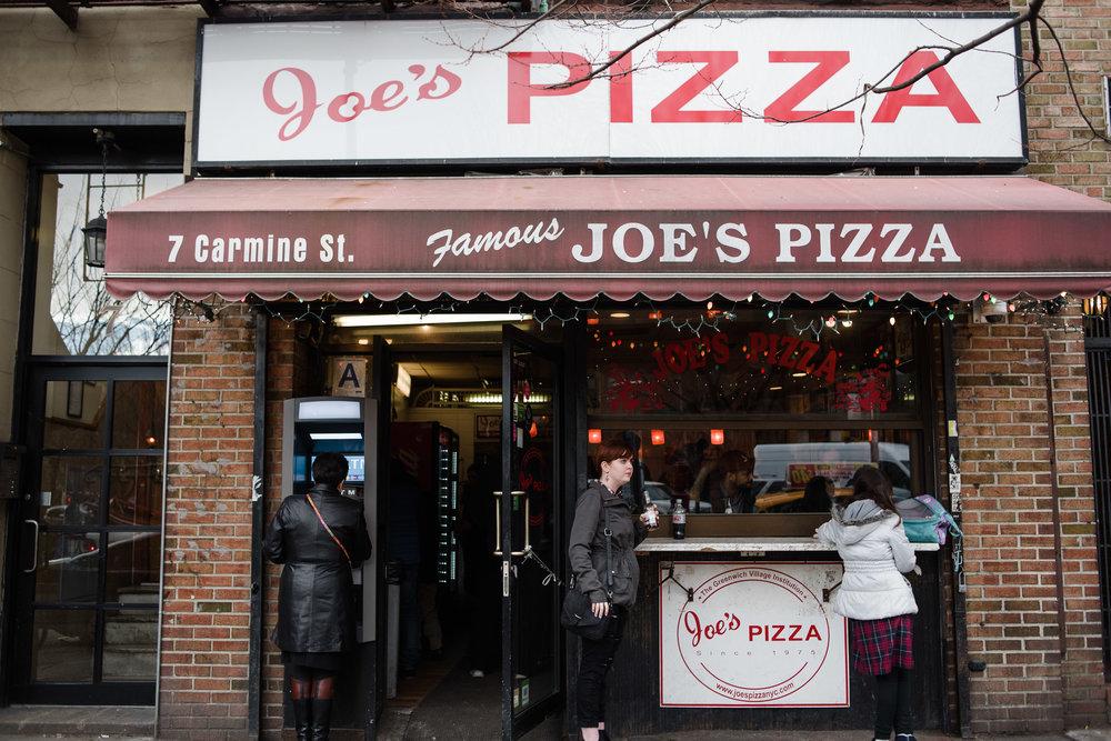 Joe's Pizza, West Village, Manhattan, NYC