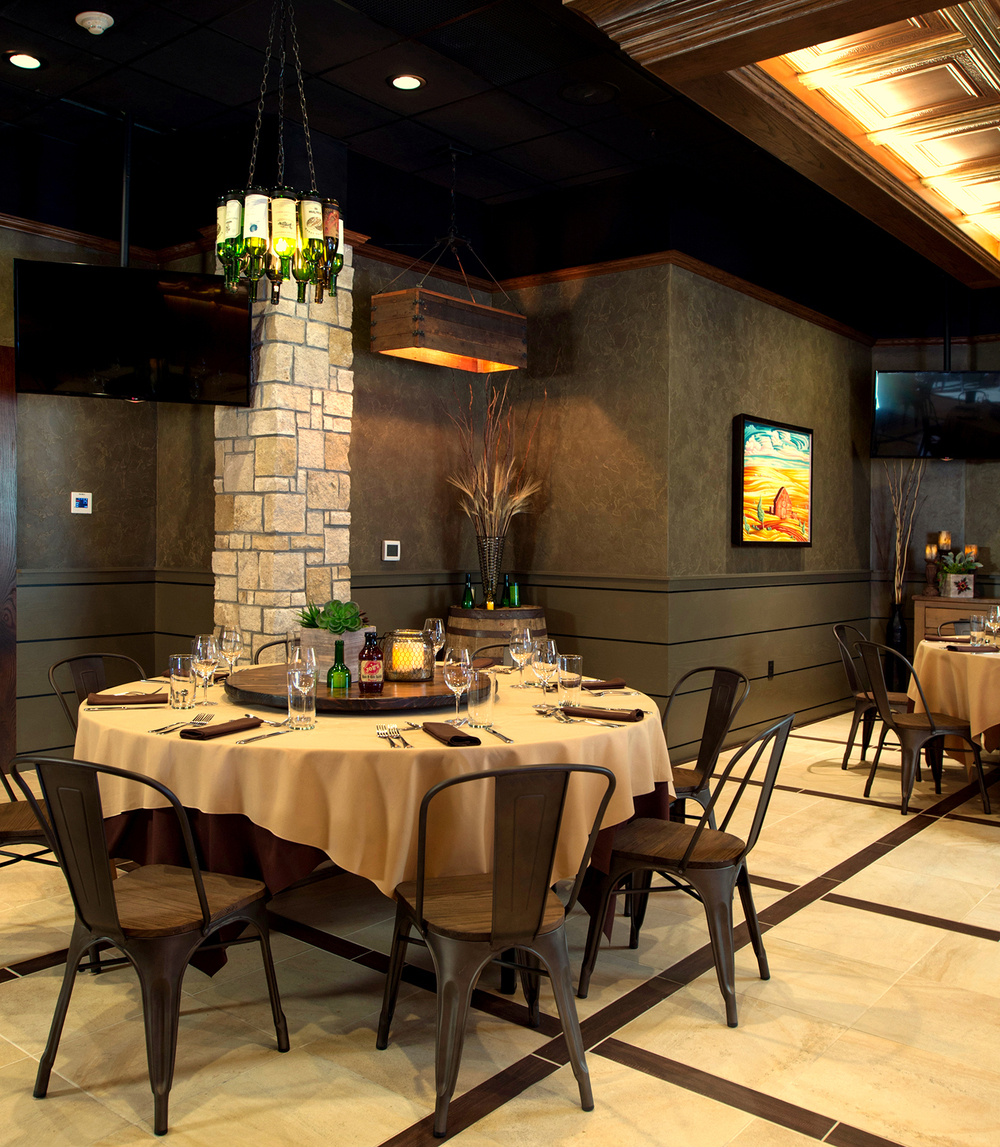 Gallery the 180 room for Best private dining rooms kansas city
