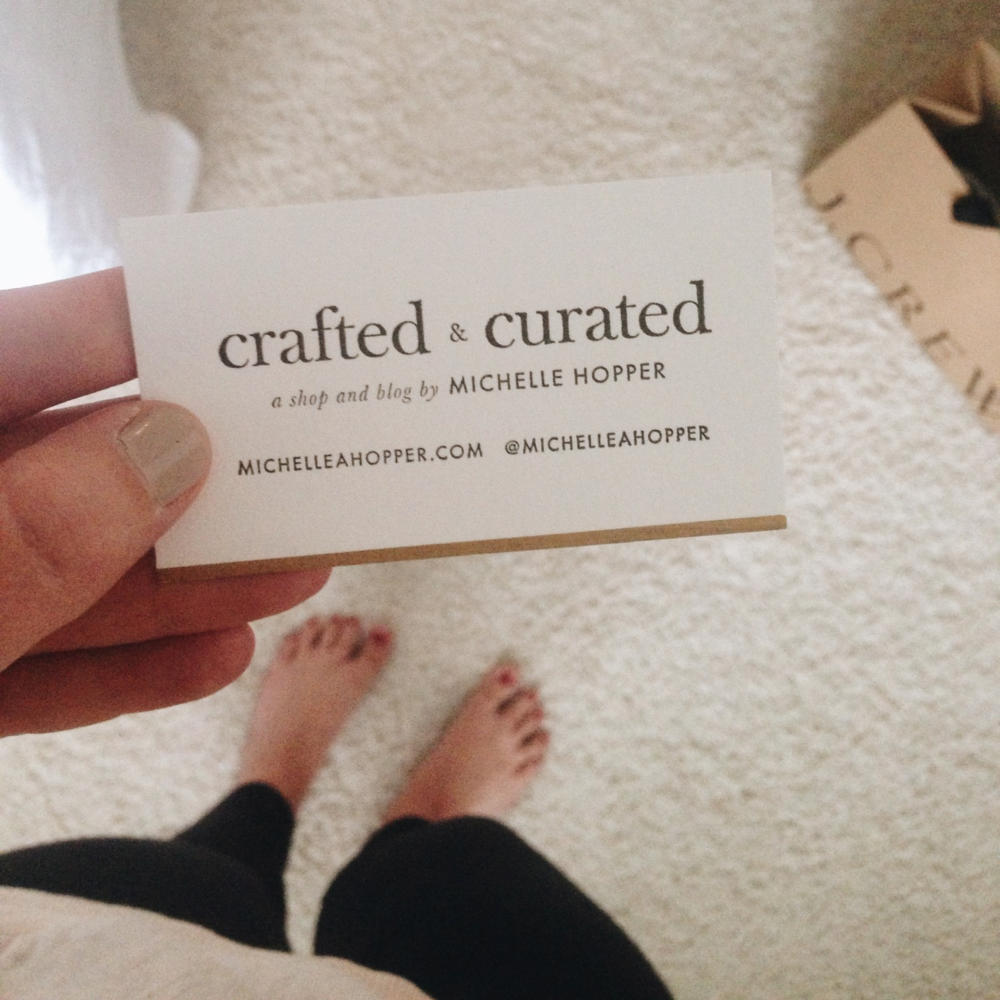 crafted and curated blog