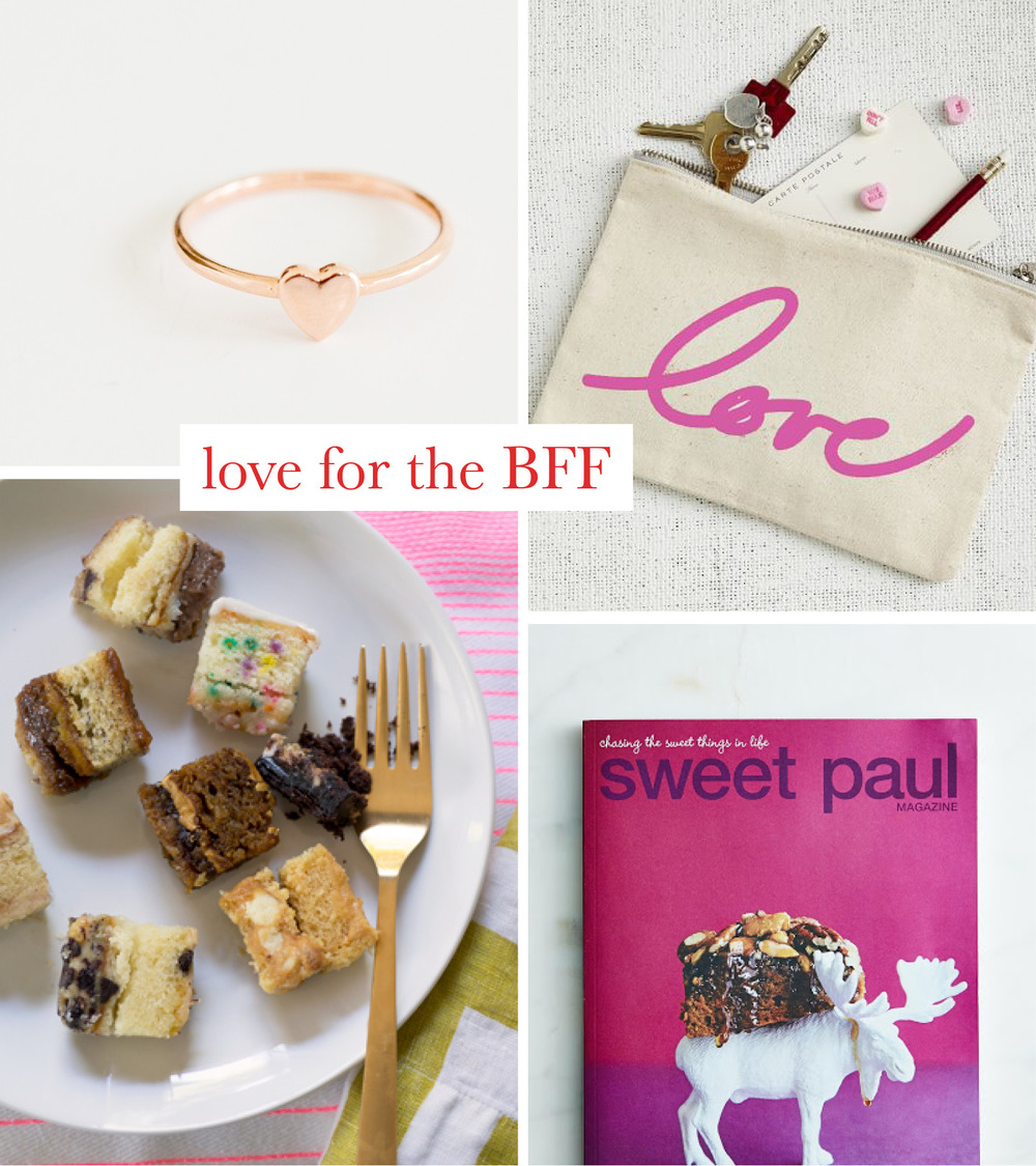 Valentines Gift Guide for the Best Friend