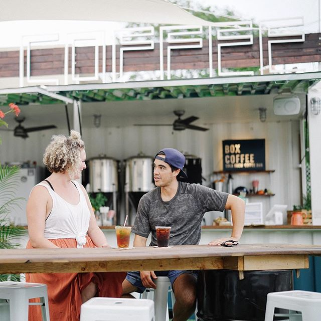 When we're just daydreaming of drinking @boxcoffeemia with Bec and Lucas... Stay tuned their story will be here before you know it! #dosemag #boxcoffeemia