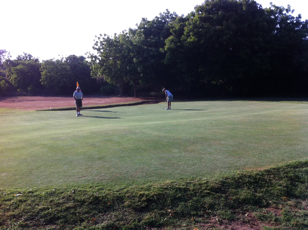 7th green - par 3, 175 yards