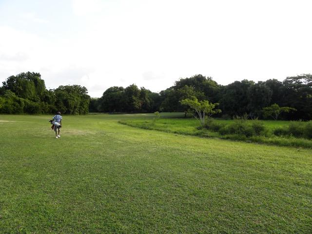Hole 14 - 410 yards - par 4