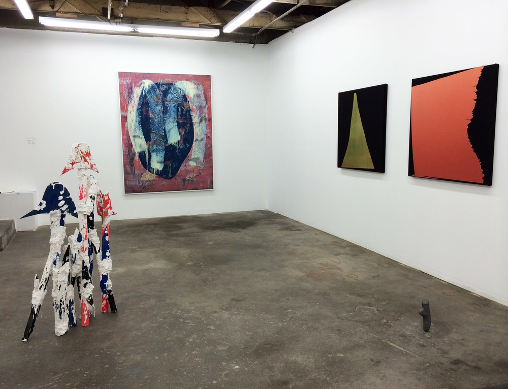 Installation shot Florian Morlat, Jon Pestoni, Kim Fisher and Shana Lutker