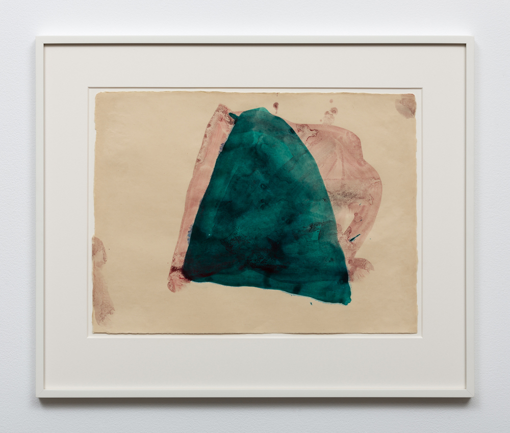 "Mary Weatherford, ""Red Green Cave"", 2011"