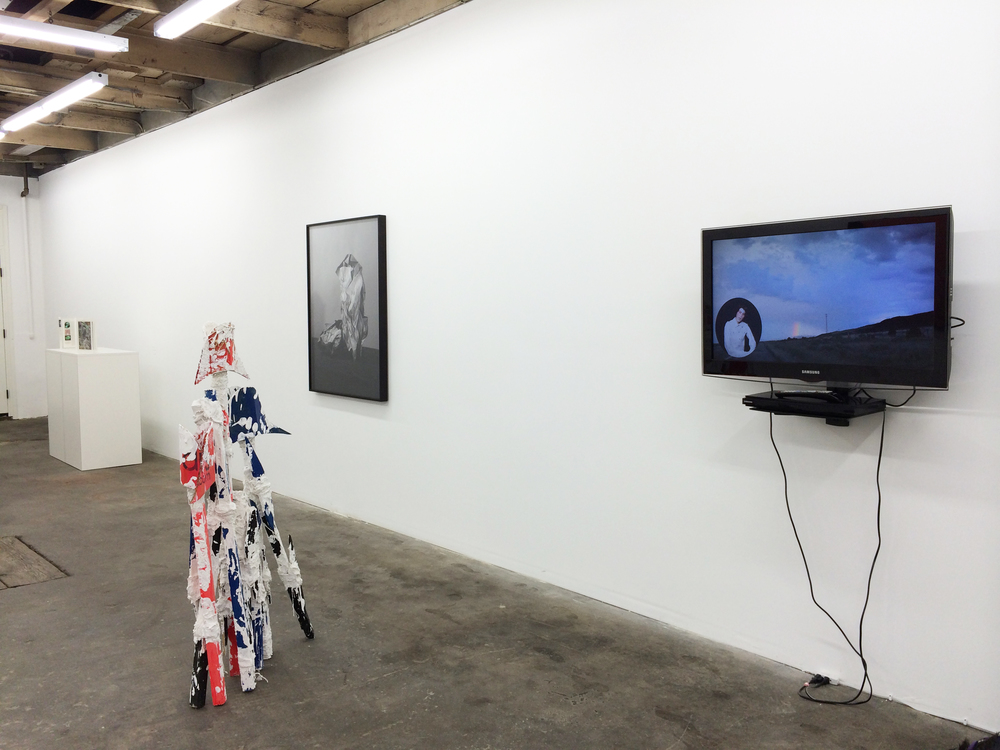 Installation shot Mungo Thomson, Florian Morlat, Sarah Conaway and Pearl C. Hsiung