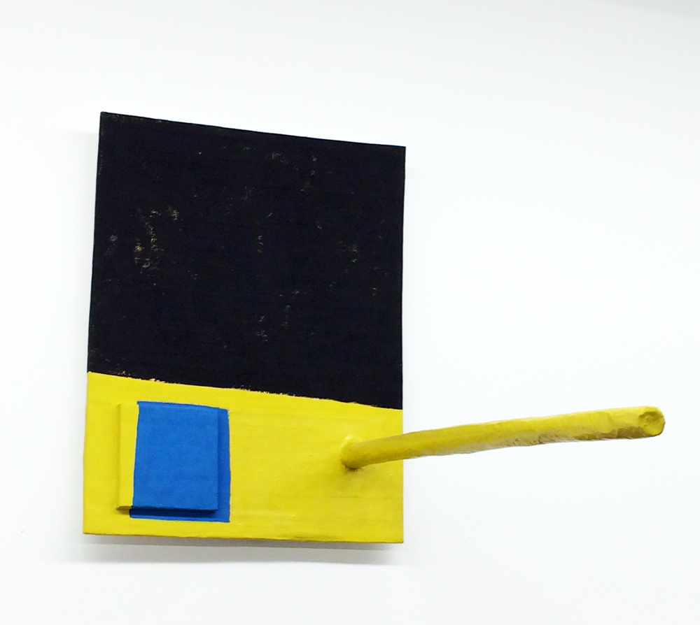 Roy Dowell, Untitled #852, 2002, carboard, paper and acrylic