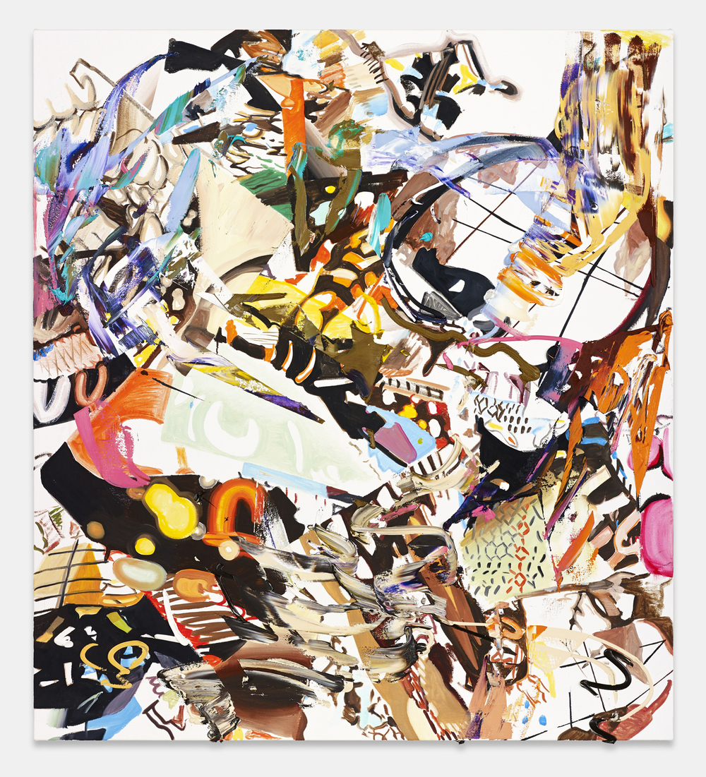 John Williams, U-shapes, 2013, oil on canvas courtesy of the artist and Richard Telles Gallery, Los Angeles, Ca