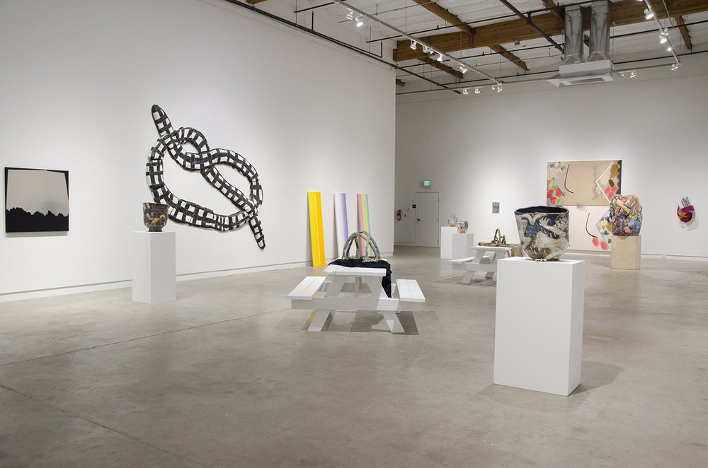Install shot of the Brightsiders at Verge Center for the Arts