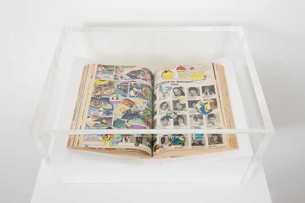 Dieter Roth, Collected works, Volume 7. bok 3b and bok 3d (Reconstruction of the books published by forlag ed Reykjavik 1961), 1974, artist book, 12 x 8 x 1.5 inches