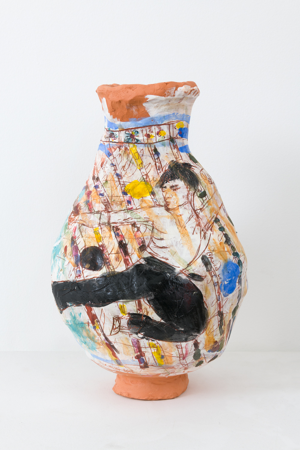 Bruce Lee, 2018  Glazed ceramic
