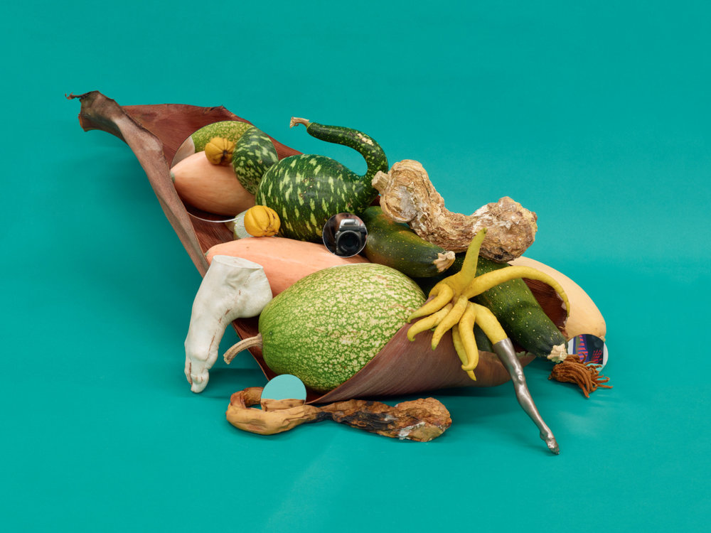 Untitled (Cornucopia, self-portrait), 2016  Pigment print  30 x 40 inches