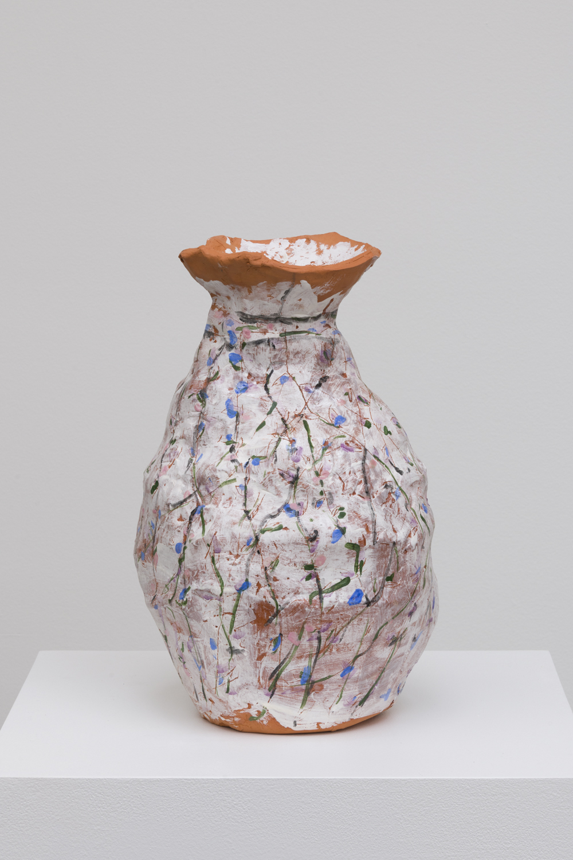 Jennifer Rochlin  Vines, 2018  Glazed ceramic  17 x 12 x 11 inches
