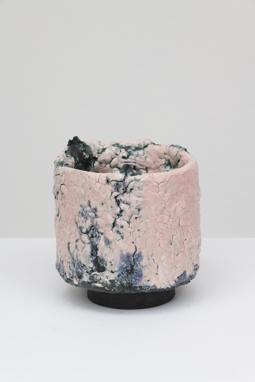 "Tony Marsh  Untitled, 2018  Glazed ceramic  7 x 7 x 7"""