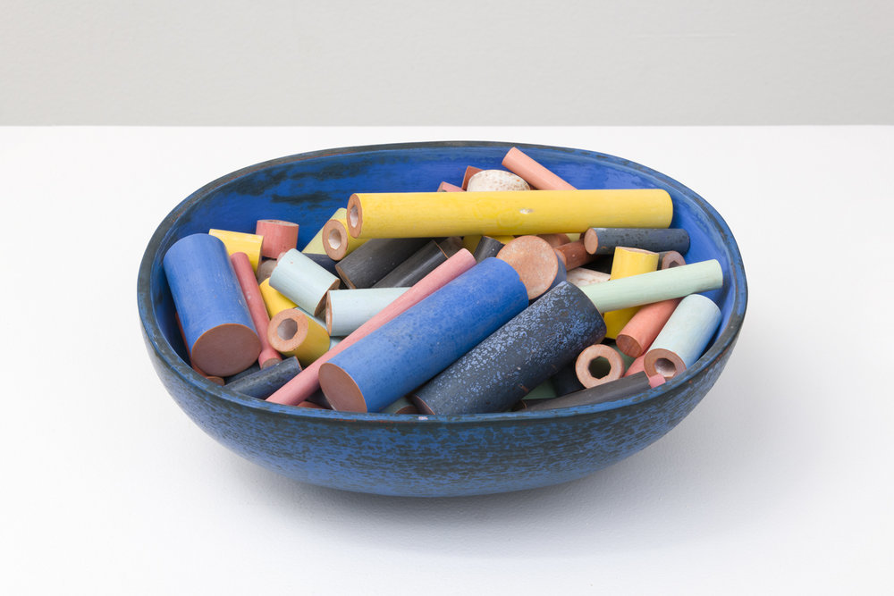"Tony Marsh  Untitled, 2012  Glazed ceramic  5 x 12 x 8.5"""