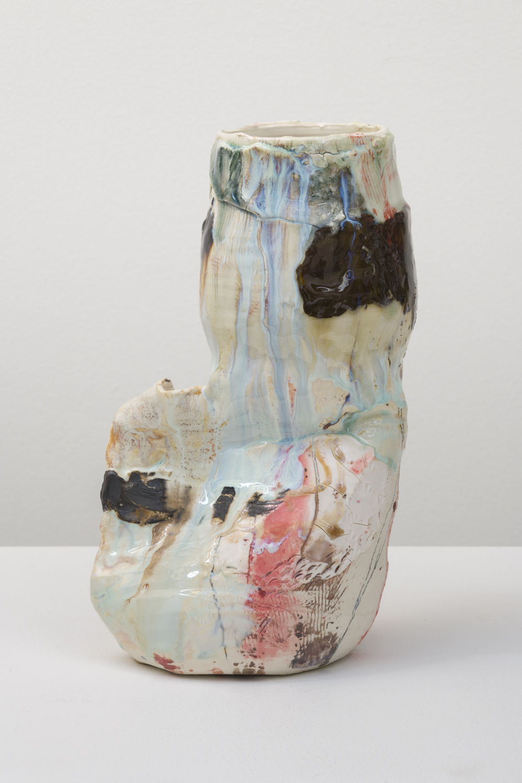 "Jennie Jieun Lee  Untitled, 2018  Glazed ceramic  12 x 7 x 5"""
