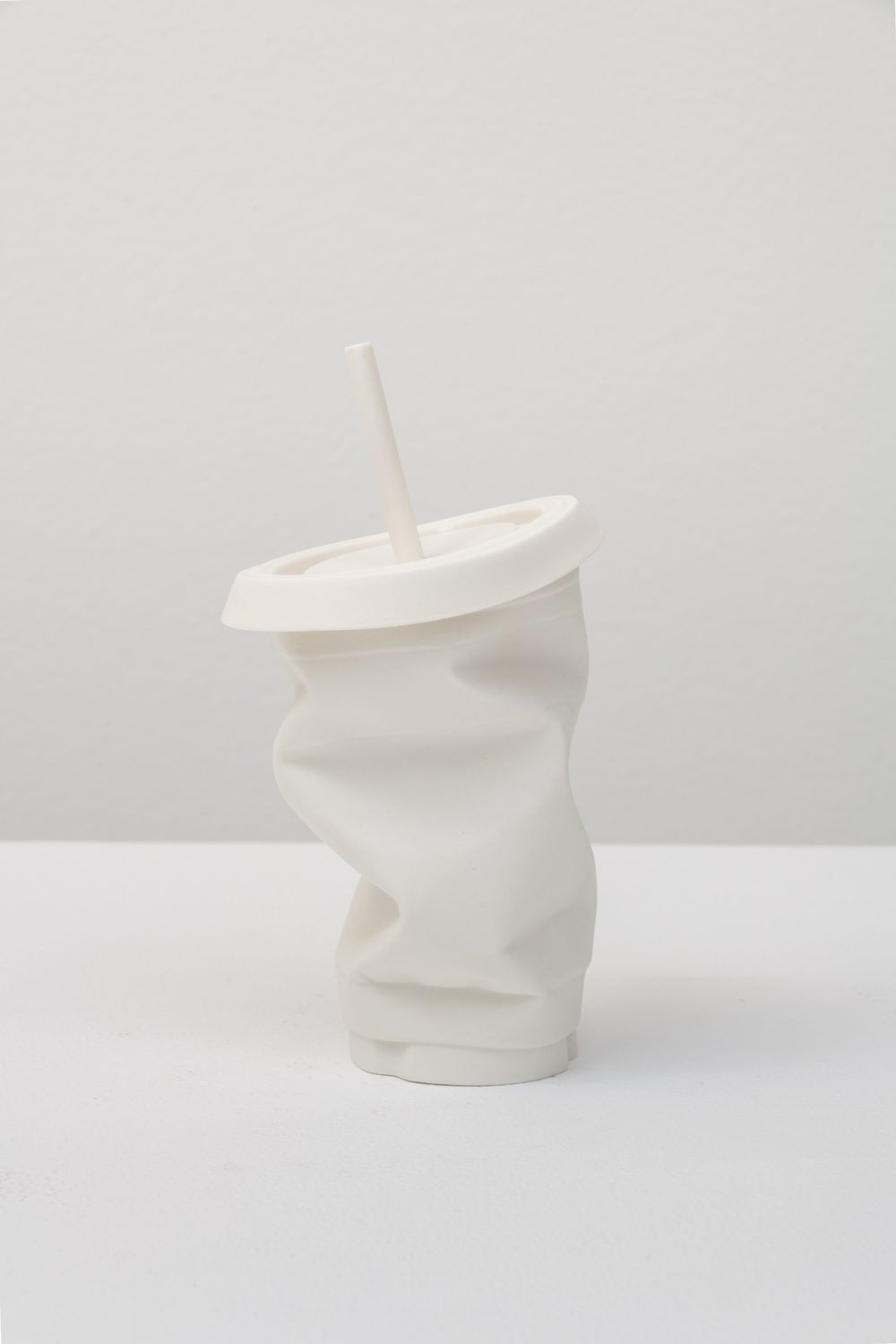 Garret Dran  Untitled, 2015  Vitrified translucent porcelain  7 x 4 x4 inches